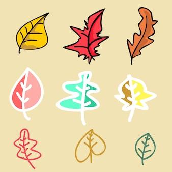 Trendy autumn floral pattern