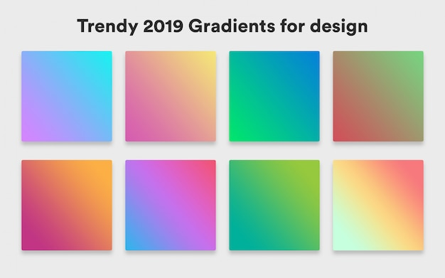Trendy background colors
