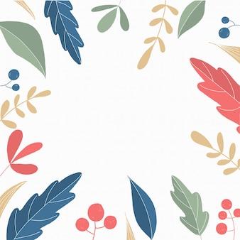 熱帯のフレームとトレンディな背景。自然のデザイン。夏の熱帯の葉。ヤシのエキゾチックな葉。カラフルな熱帯雨林。ジャングルの葉セット。夏のホリデーシーズン。