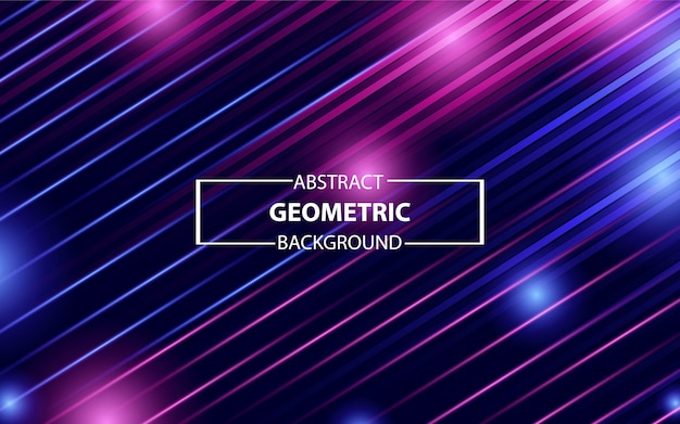 Trendy colorful geometric background
