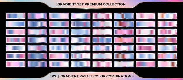 Trendy colorful gradient rose gold and pink