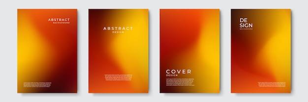 커버 디자인 배경, 다채로운 추상 액체 3d 모양에 대한 트렌디한 유체 그라데이션 흐림 배경. 배너, 포스터, 표지, 전단지, 프레젠테이션, 광고를 위한 미래 지향적인 디자인 배경