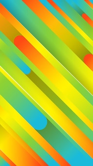 Модный геометрический красочный фон с абстрактными линиями. рассказы дизайн баннера. футуристический динамический узор. векторная иллюстрация