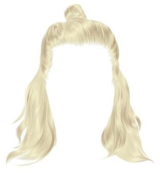 Ультрамодные волосы светлых тонов. каре с хун. красота мода.