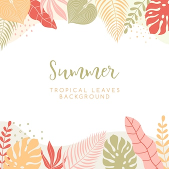 Trendy illustration in simple flat style with copy space for text.