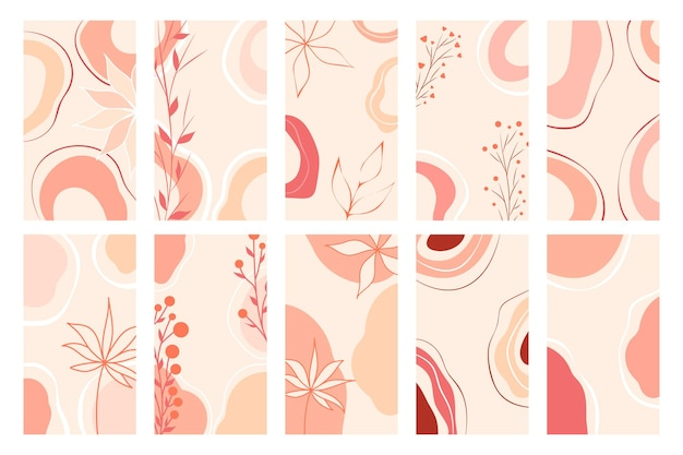 Trendy illustration for web design. vector app template set. elegant abstract background. social media banner template. modern, great design for any purposes.
