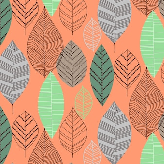 Trendy pattern design vector
