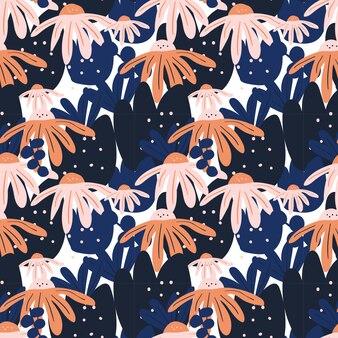 Trendy pop modern seamless pattern background