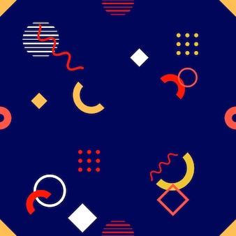 세련 된 완벽 한 기하학적 패턴, 기하학적 수치와 벡터 일러스트 레이 션. 초대장, 브로셔 및 프로모션 템플릿을 위한 디자인 배경입니다.