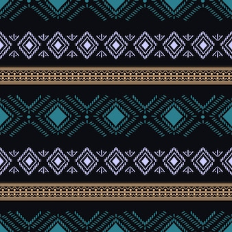 Trendy tribal aztec seamless pattern