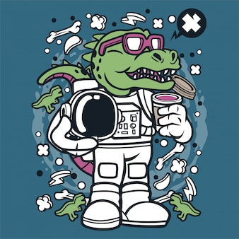 Trex astronaut