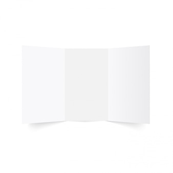 Tri-fold brochure mock-up.