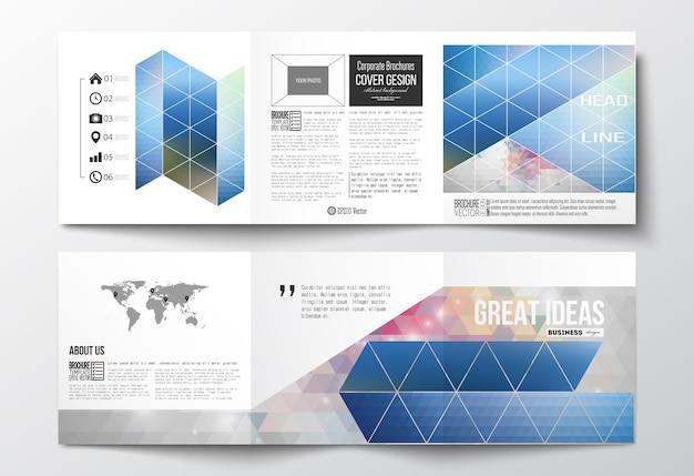 Tri-fold design brochures