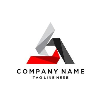 Triangel logo design concept
