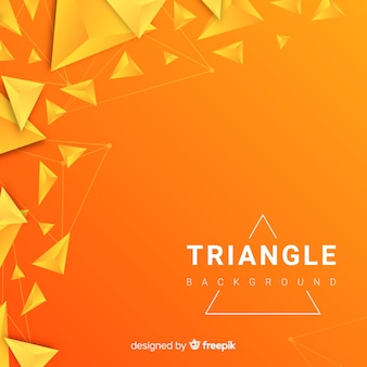 Triangle brackground