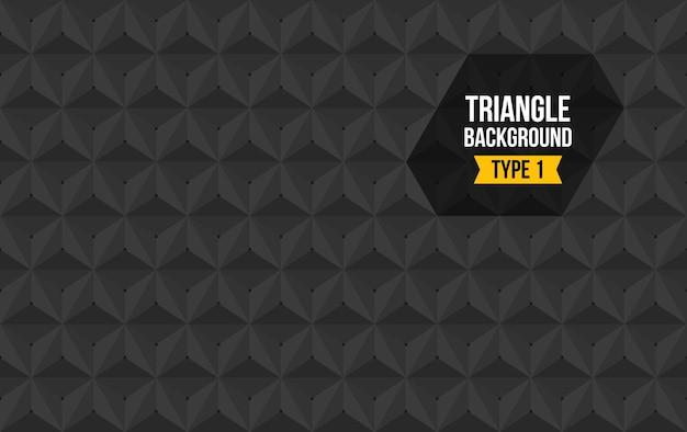 Triangle full background