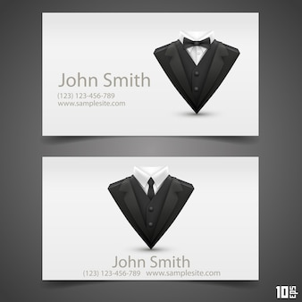 Triangle jacket card. vector illustration. business card