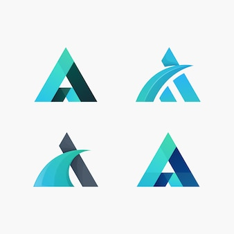 Triangle logo package