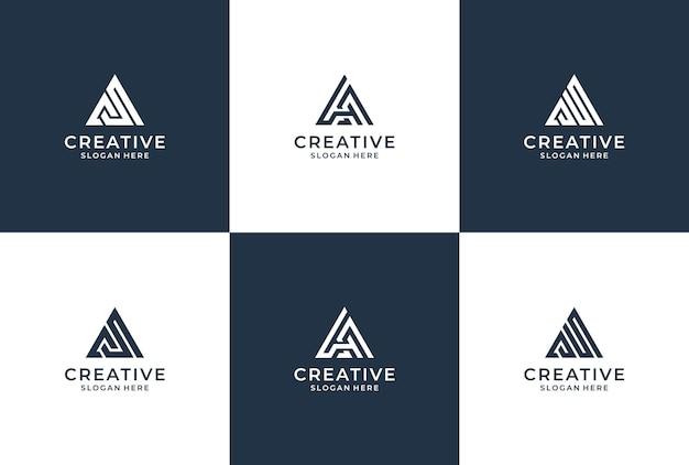 三角形のロゴ