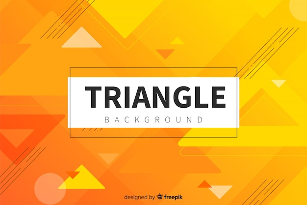 Triangle memphis background