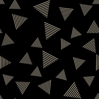 Triangle pattern, abstract geometric background. creative and luxury style illustration