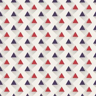 삼각형 패턴, 추상적인 기하학적 배경입니다. 창의적이고 우아한 스타일의 일러스트레이션