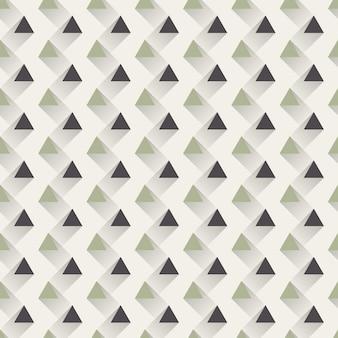 三角形のパターン、抽象的な幾何学的な背景。クリエイティブでエレガントなスタイルのイラスト