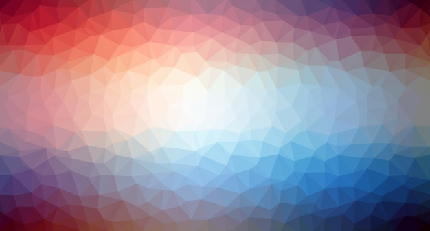 Triangle pattern background in line colorful mosaic banners vector illustration