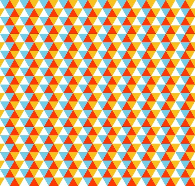 삼각형 패턴, 기하학적 간단한 배경입니다. 우아하고 고급스러운 스타일의 일러스트레이션