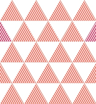 Triangle pattern in living coral color. abstract geometric background. color of the year 2019. luxury and elegant style illustration