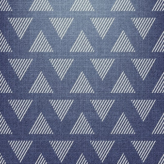 Triangle pattern on textile. abstract geometric background, vector illustration. creative and luxury style image