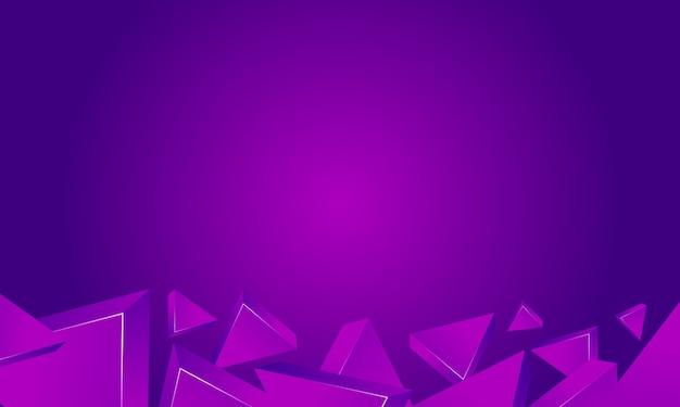 三角形の紫色の背景