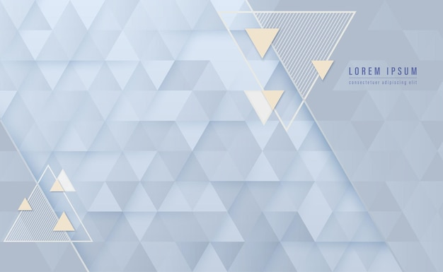 Triangle shape abstract background vector illustration