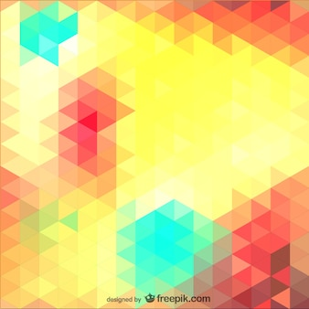 Triangle template vector