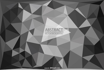 Triangle wallpaper template