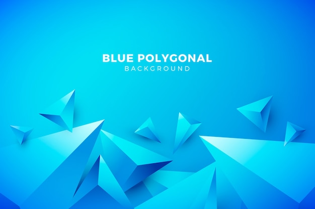 Triangles background with vivid colors