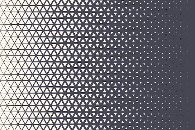 Треугольники полутоновые текстуры геометрические ретро цветной узор технологии абстрактный фон