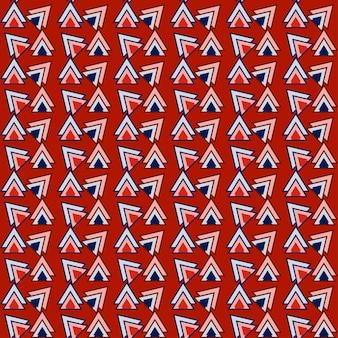 디자인에 사용 하기 위해 삼각형 원활한 패턴 기하학적 배경