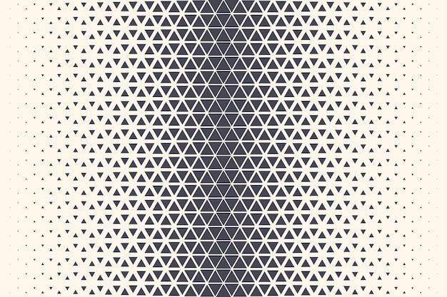 Треугольный полутоновый узор текстурированной границы абстрактный геометрический фон