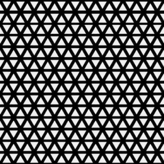 흑백 색상의 삼각형 패턴