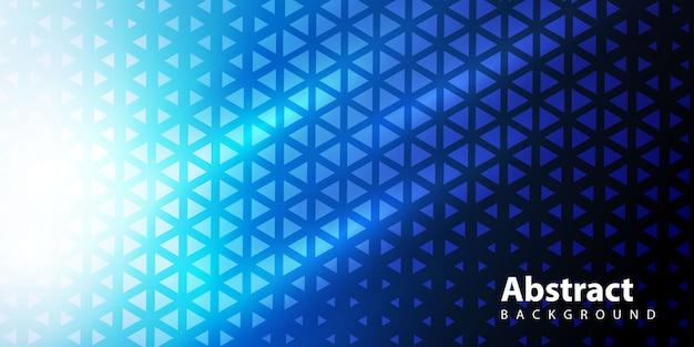 グラデーションの三角形パターン