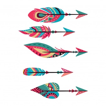 Tribal arrows collection