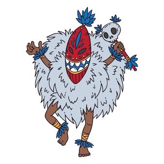 Tribal dancer.
