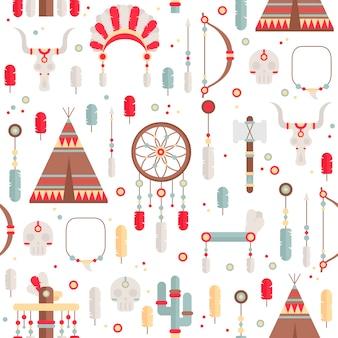 부족 민족 원활한 패턴