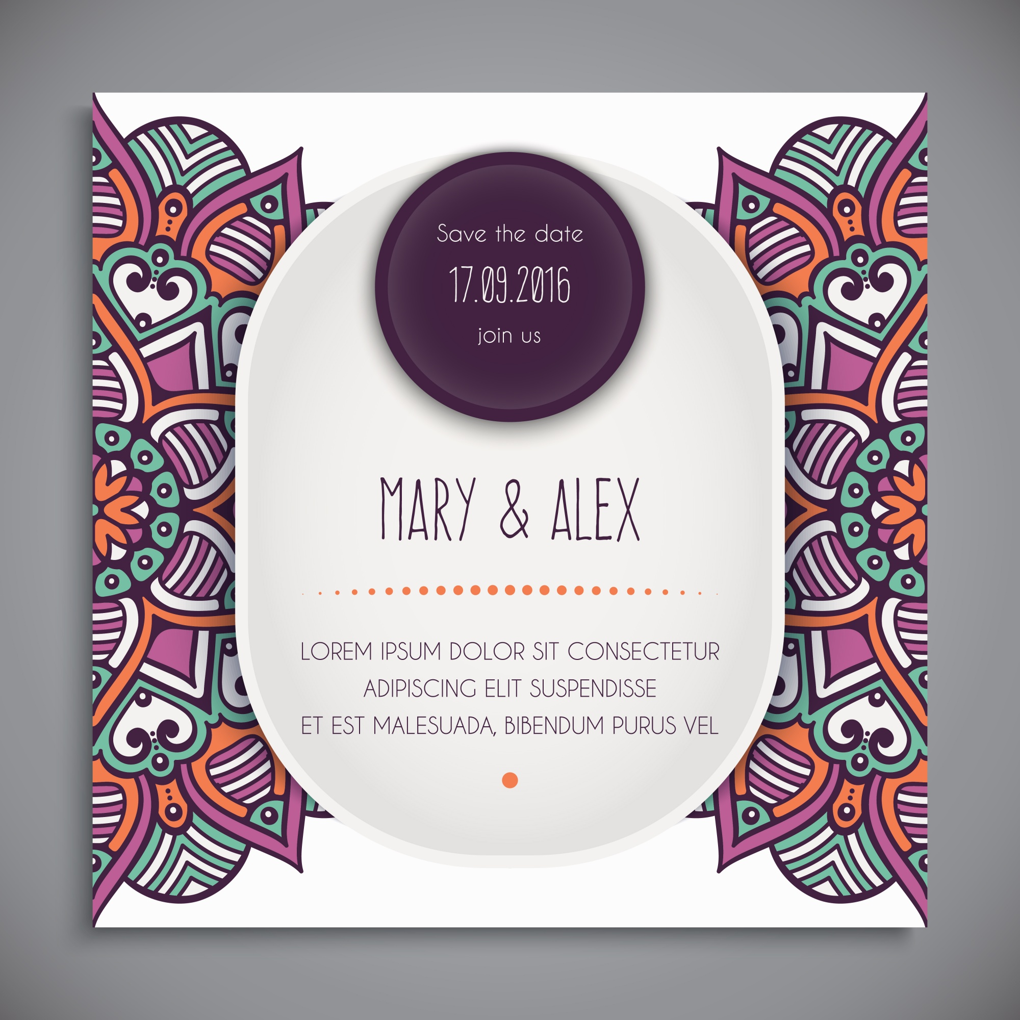 pocketfold wedding invitations wedding vectors 6 700 free files in ai eps format 6700