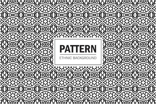 部族のシームレスなパターン。自由奔放に生きるテキスタイルデザイン。幾何学的な民族の装飾。