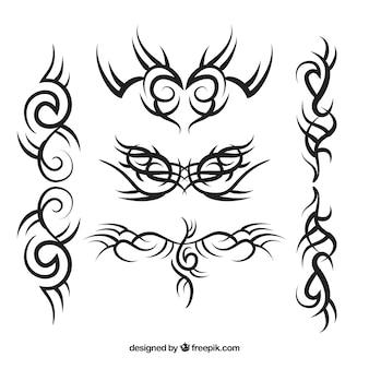 Tribal tattoos pack