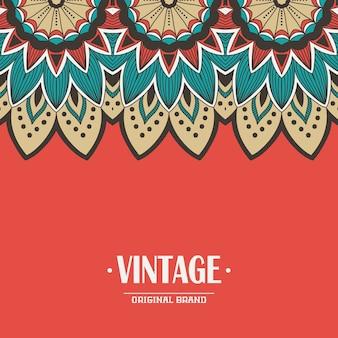 Tribal vintage background
