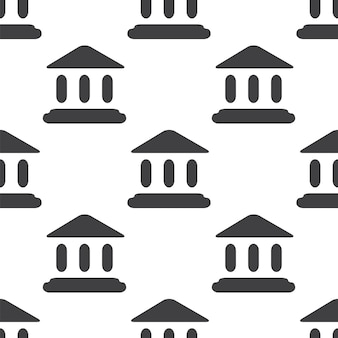 Tribunal, vector seamless pattern, editable can be used for web page backgrounds, pattern fills