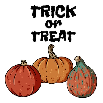 Trick or treat banner.